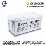 Ah аккумулятор свинцовокислотной батареи AGM 12V250