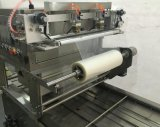 Fecho automático da bandeja de alimentar a máquina