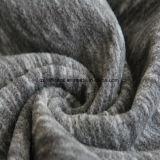 Ватка влияния печатание катиона микро-, ткань куртки (чернота и серый цвет)