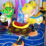 판매를 위한 동전에 의하여 운영한 게임 기계 9 시트 해양동물 회전 목마가 박람회 위락 공원에 의하여 탐 농담을 한다