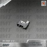Contenitore di batteria della cassetta portabatterie del litio Cr2032 BS-2032-5-2