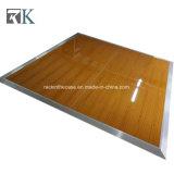 El panel de suelo negro portable de Dance Floor de la madera contrachapada para la boda del acontecimiento