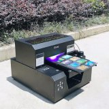 Professional mejor calidad Durable, tamaño A4 de superficie plana digital LED UV impresora de plumas