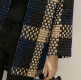 Haute qualité OEM Mesdames Down Jacket Collier rond Manteau court