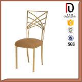 جديدة تصميم نوع ذهب إطار [بو] وسادة يكدّر حديثة عرس حديد كرسي تثبيت