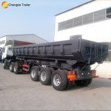 3 Aanhangwagen van de Vrachtwagen van de Stortplaats van de Tractor van de Aanhangwagen van de Kipper van assen de Zij voor Verkoop