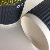 2018 tazza di carta increspata calda del caffè di 12oz 16oz