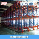 Rack de transporte automático Prateleiras metálicas na utilização industrial