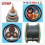 Среднего напряжения 240мм2 XLPE изоляцией ПВХ Sheated медного кабеля питания