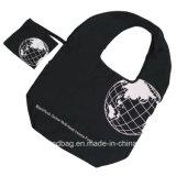 Riciclare i sacchetti pieghevoli riutilizzabili di nylon spessi 100% di Ripstop Shoppintotes per la drogheria esterna di corsa