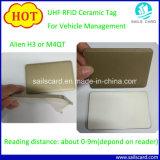 手段管理のためのUHF RFIDの陶磁器の札