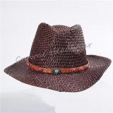 Widebrim Sommer-Papier-Stroh-Cowboy-Panama-Wannen-Hut-Schutzkappe