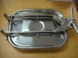 Санитарная квадратная нержавеющая сталь крышки люка -лаза 304 EPDM
