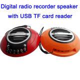 Самая новая портативная многофункциональная запись UFO FM Radio с перезаряжать батарею