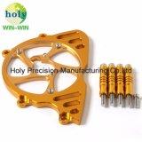 Motorrad-Motor-Ketten-Deckel mit der anodisierten gekennzeichneten Aluminium CNC maschinellen Bearbeitung