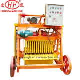 Bloc semi-automatique d'usine de brique de la bonne performance Qmj4-45 petit faisant la machine