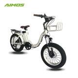 電気バイクかEbikeまたは電気自転車折る20inch 500Wの雪