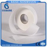A tela não tecida do algodão para o bebê limpa a tela altamente macia do Nonwoven do algodão