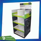 ヨーロッパの標準の台所用品のマグの版のための自由で永続的な表示装置、専門のボール紙の陳列台Fsdu