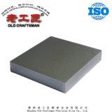 Aleación de tungsteno de carburo cementado difícil sacar la placa