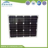 comitato solare del modulo solare monocristallino 50W con 4 righe e 25 anni di corso della vita