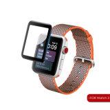 新しい3D腕時計はガラス膜のAppleの腕時計38mmスクリーンの保護装置のための耐圧防爆保護フィルムを強くした