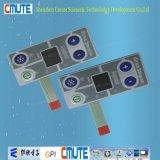 Tastiera di controllo metallica della membrana di colore di uso del frigorifero