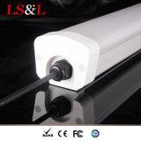a lente IP65 de 120cm Forsted Waterproof o sarrafo linear da luz do pendente do diodo emissor de luz da Tri-Prova