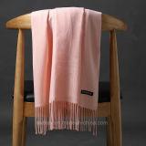Châle de mode teint par plaine du l'Automne-Hiver (Hz209)