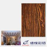 Buenas nuevas hojas de acero de madera laminadas