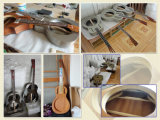 Resonator-ResonatorUkulele Bell-MessingAiersi mit Fall