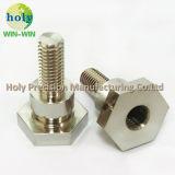CNC van het Plateren van het nikkel het Messing CNC die van de Douane van de Delen van het Messing Geval machinaal bewerken