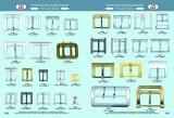 Unregelmäßige Form-Metallferse-Stab-Faltenbildung für Beutel oder Schuhe