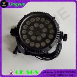 IP65 het LEIDENE DMX512 24X12W RGBW Waterdichte OpenluchtLicht van het PARI