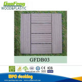 Плитка настила блокировки WPC DIY верхнего качества Европ стандартная твердая Анти--UV деревянная составная