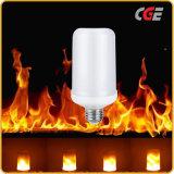 LEDの明滅の炎の球根ランプ、B22/27 1300Kは火カラー炎のランタン5With7Wの炎を調整する