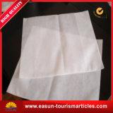 Cubierta de seda de la almohadilla del fabricante con insignia del bordado