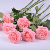 Venda por grosso de Fábrica Real de látex Toque Rose Flores