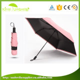 Guarda-chuva de Sun de dobramento da chuva do dispositivo relativo à promoção do presente para a senhora