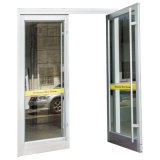 Puerta de entrada de aluminio de la puerta de la bisagra de suelo