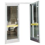 Portes en verre en aluminium de modèle de ressort extérieur extérieur neuf d'oscillation