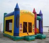 Aufblasbares Zeichenstift-Schloss, Kind-aufblasbares kombiniertes (B3038)