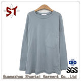 Vestuário de moda T-shirt simples lazer