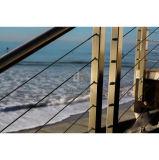 Самомоднейший Railing кабеля рельсов лестниц нержавеющей стали загородки металла