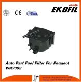 Filtro de combustível da peça de automóvel para Peugeot Wk9392