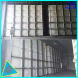 Square FRP réservoir d'eau du réservoir de stockage de l'eau en plastique en fibre de verre
