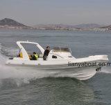 Liya 8.3m/27FT Militär versieht Hypalon aufblasbares Boot für Verkauf mit Rippen