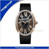 Couleurs personnalisées de montre de bijou de dames de tendance de mode différentes