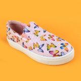 لون قرنفل فراشة [كد] يمشي كرة سلّة حذاء رياضة بنات مدرسة أحذية لأنّ جدي