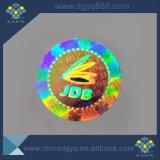 Etiquetas autocolantes com holograma Laser Multi-Color Custom